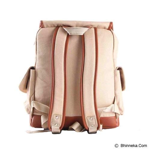 PULCHER Gewiin Man [E-02] - Cream - Backpack Pria